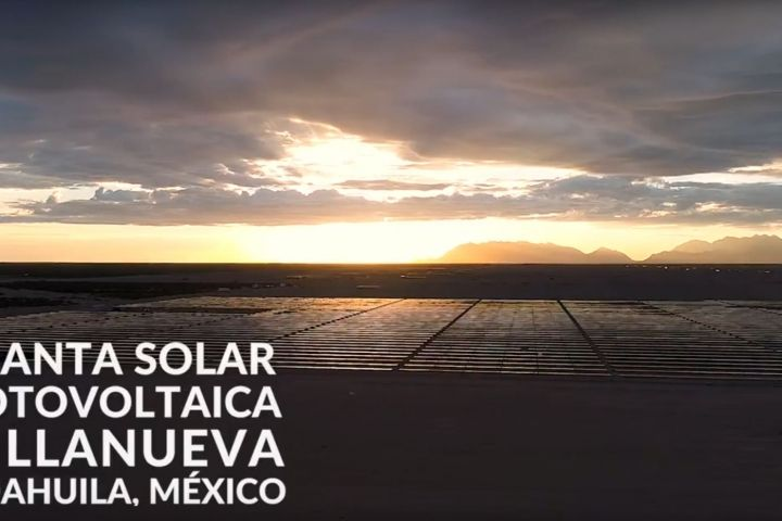 PHOTOVOLTAIC PARK VILLANUEVA: VIDEO SEPTEMBER 2017