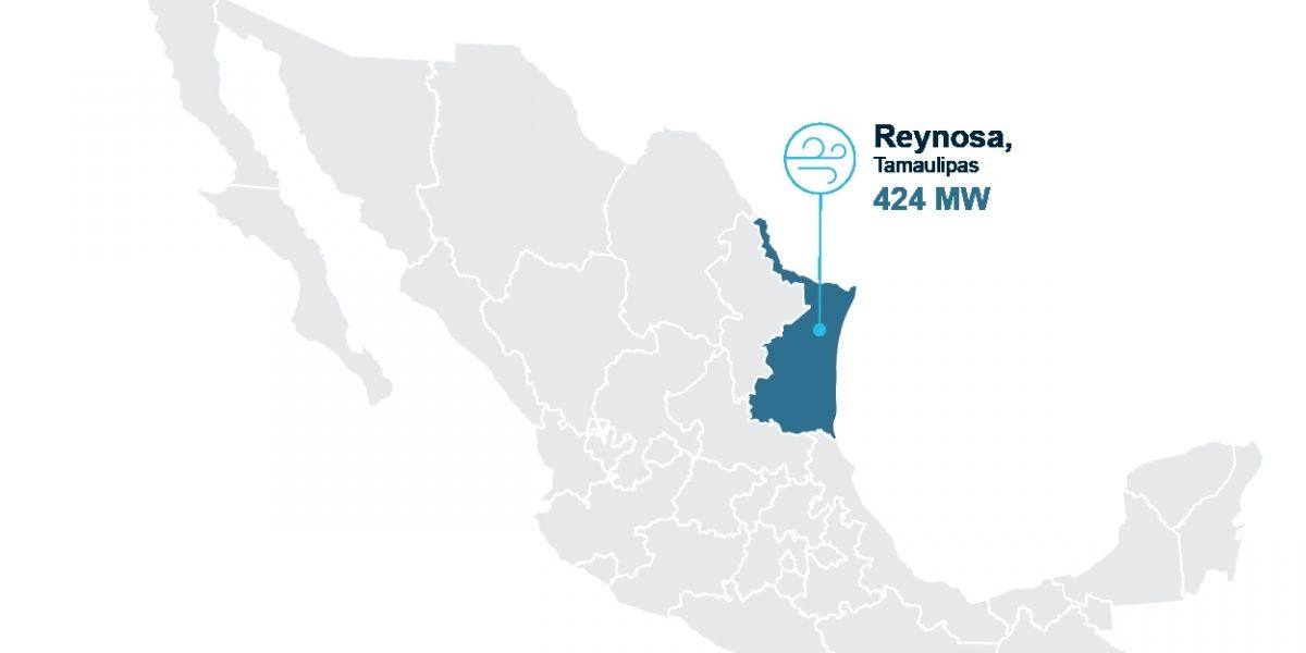 Instra Engineers has begun through it's Mexico branch, the works as supervisor of the Reynosa Wind Farm