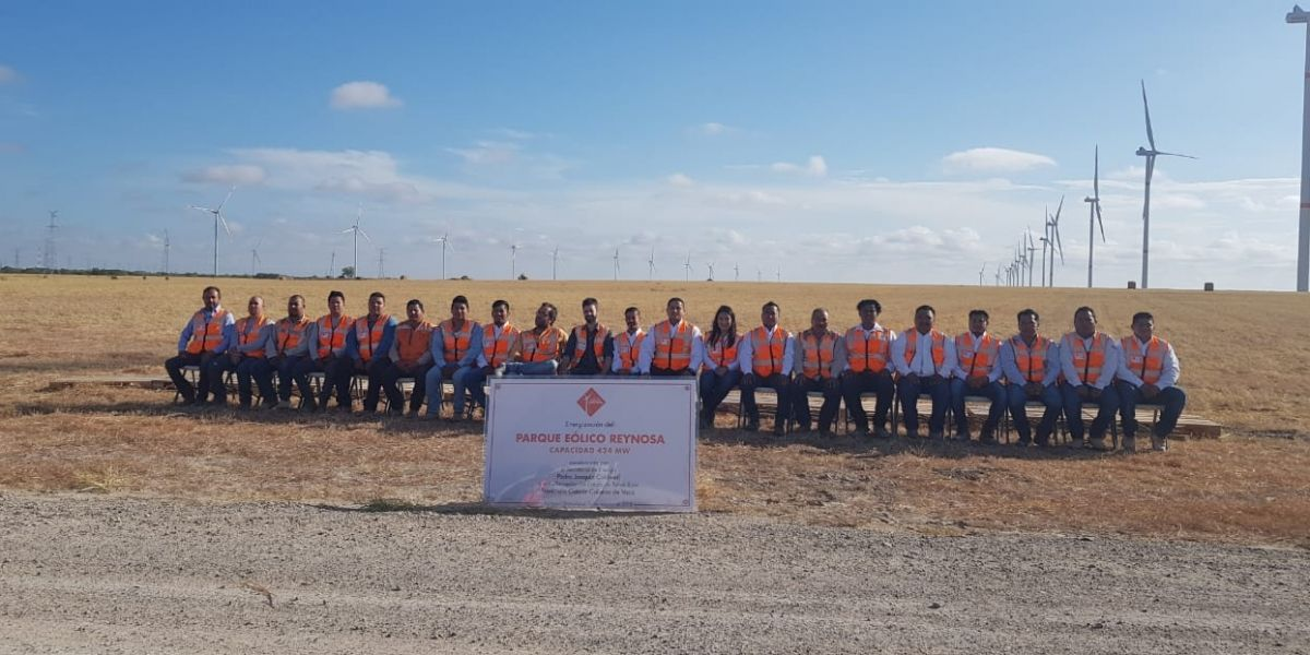 Instra Ingenieros participates in the largest wind farm in Mexico.