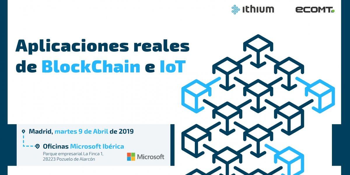 Participamos en el evento de blockchain e Iot con Microsoft