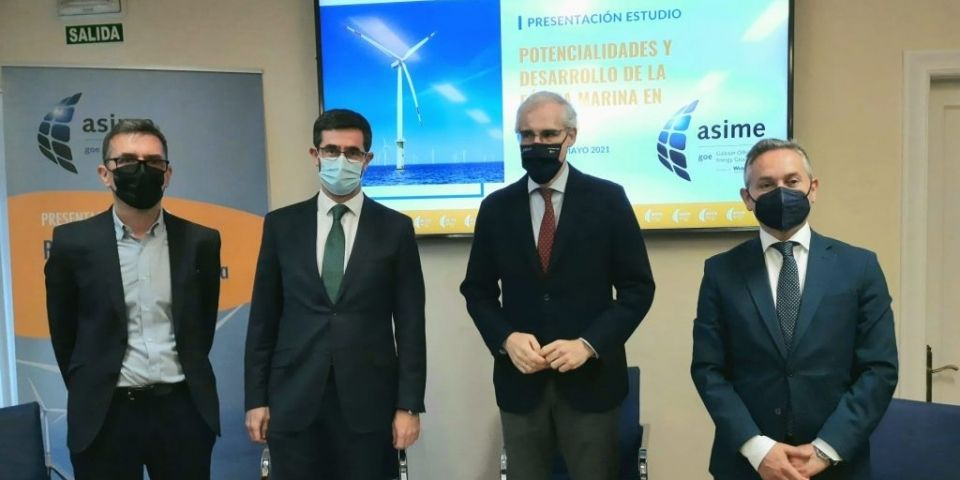 Offshore wind energy potential in Galicia