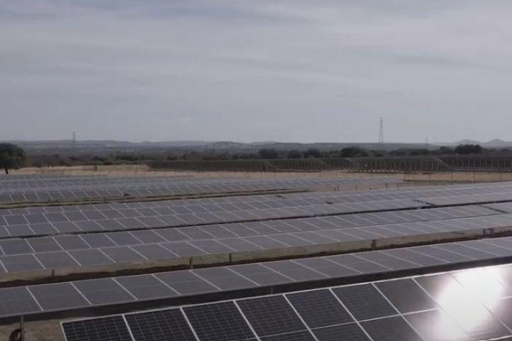 Valdesolar, la mayor planta fotovoltaica de Repsol en España