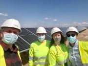 Valdesolar, Repsol's biggest solar plant in Spain